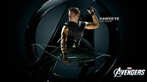 Tapety na pulpit Avengers (film 2012) Jeremy Renner Łucznicy HAWKEYE