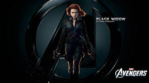 Hintergrundbilder Marvel's The Avengers 2011 Scarlett Johansson BLACK WIDOW