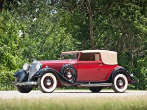 Hintergrundbilder Lincoln Roadster KA Roadster by Dietrich 1933 Autos