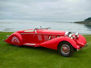 Bilder Mercedes-Benz Roadster 540K Special Roadster by Mayfair 1937 Autos