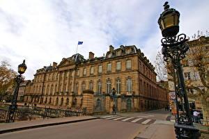 Bakgrunnsbilder Frankrike Gatebelysning  byen