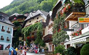 Hintergrundbilder Österreich Hallstatt