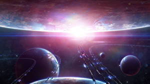 Image Technics Fantasy Planets Fantasy Space
