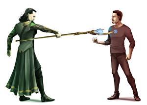 Tapety na pulpit Avengers (film 2012) Tom Hiddleston Fan ART