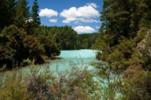 Desktop wallpapers Lake New Zealand Sky  Echo Nature