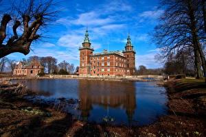 Bilder Burg Schweden Trolle Ljungby  Städte