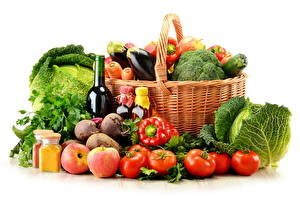 Picture Vegetables Wicker basket Food