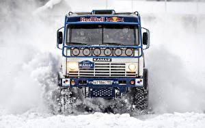 Hintergrundbilder KAMAZ Lastkraftwagen Autos