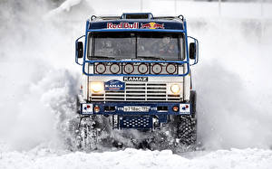 Hintergrundbilder KAMAZ Lastkraftwagen