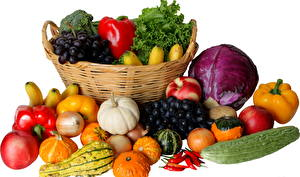 Photo Vegetables Wicker basket Food