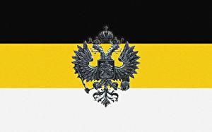 Bilder Russland Герб Nationalisten Doppeladler Flagge