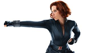 Tapety na pulpit Avengers (film 2012) Scarlett Johansson BLACK WIDOW