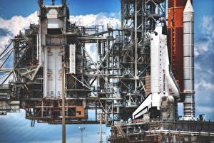 Hintergrundbilder Schiffe Rakete Kosmos