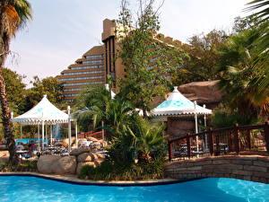 Fotos Kurort Afrika Südafrika Schwimmbecken Sun City Städte