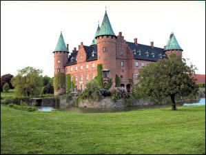 Fotos Burg Schweden Castle Trolleholm Städte