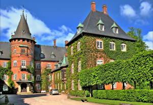 Hintergrundbilder Burg Schweden Trolleholm  Städte