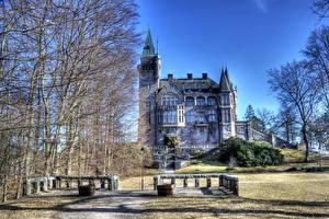 Fotos Burg Schweden HDRI Teleborg Städte