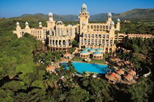 Hintergrundbilder Gebäude Afrika Südafrika Sun City Städte