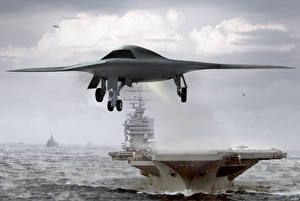 Fotos UAV X-47B Luftfahrt