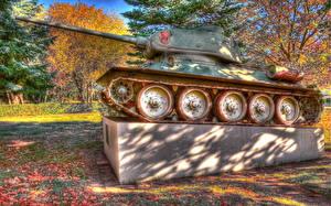 Hintergrundbilder Panzer Denkmal T 34 Heer