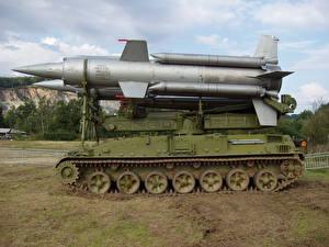 Bilder Raketenwerfer Rakete  Heer