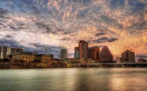 Fotos USA Himmel Texas Austin TX HDR Wolke