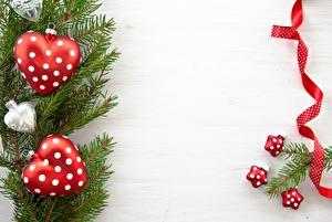 Hintergrundbilder Feiertage Neujahr Ast Tannenbaum Band