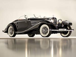 Hintergrundbilder Mercedes-Benz Roadster 1936 540K Special Roadster Autos