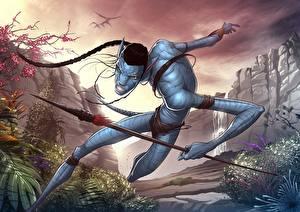Photo Avatar Warriors Spear Movies