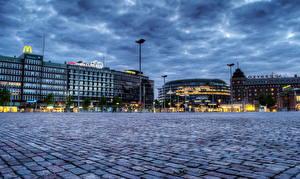 Hintergrundbilder Finnland Himmel Helsinki HDRI Straßenlaterne