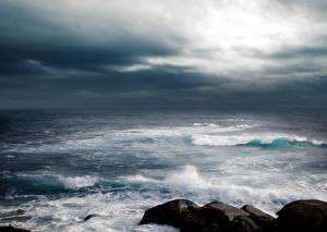 Fotos & Bilder Sea Raum Himmel Wolke  Natur fotos