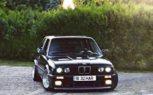 Wallpaper BMW Black Cars