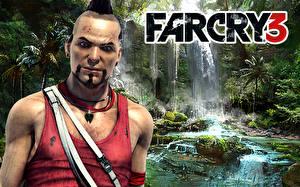Fotos & Bilder Far Cry Far Cry 3 Mann Blick  Spiele fotos