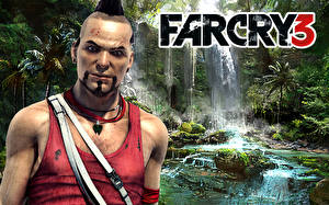 Bilder Far Cry Far Cry 3 Mann Starren