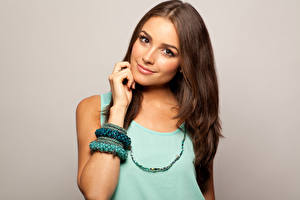 Picture Olivia Culpo Staring Smile Face Hair Brunette girl Brown haired