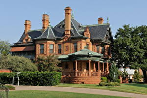 Fotos Gebäude Vereinigte Staaten Texas Herrenhaus Eddleman-McFarland Städte