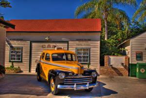 Sfondi desktop Taxi - Auto Rétro Fanali Davanti HDR Disney MGM Studios macchina