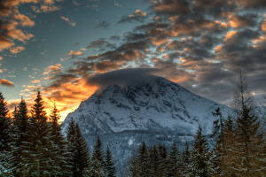 Fotos & Bilder Gebirge Himmel Österreich Wolke HDR Alpen Natur