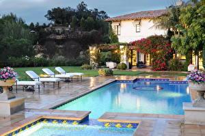 Picture Resorts USA Pools Sunlounger California Malibu Cities