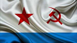 Hintergrundbilder Flagge Sowjetunion Hammer und Sichel Strips