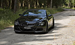 Picture BMW Headlights Black Front 2010 G-Power M6 Hurricane RR based on BMW M6 automobile