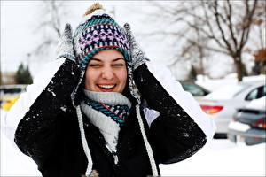 Bilder Lächeln Zähne Lachen Mädchens