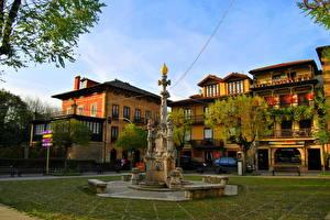 Bilder Spanien Denkmal Stadtstraße  Städte