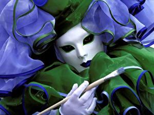 Papéis de parede Feriados Carnaval e baile de máscaras Máscara