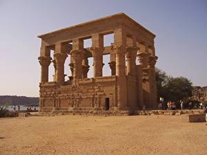 Fotos Ruinen Ägypten