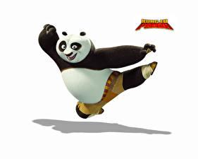 Bilder Kung Fu Panda Weißer hintergrund